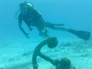 Clark Hoskin diving