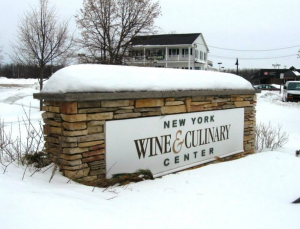 Wine centre sign
