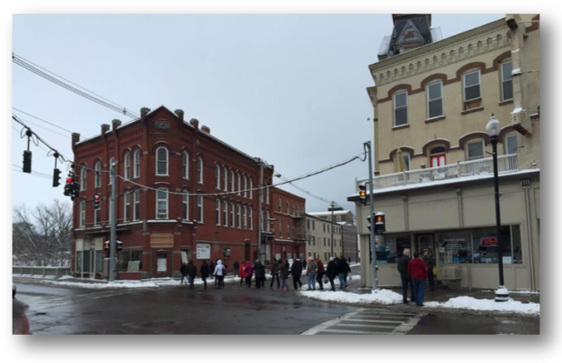 Downtown insights in Penn Yan, New York